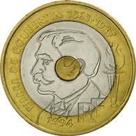 Monnaie, France, Pierre De Coubertin, 20 Francs, 1994, Paris, TTB, Tri-Metallic - France