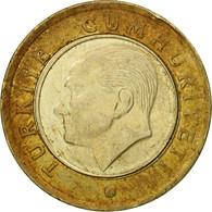Monnaie, Turquie, Lira, 2009, TB+, Bi-Metallic, KM:1244 - Turkey