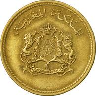 Monnaie, Maroc, Al-Hassan II, 10 Santimat, 1974/AH1394, Paris, TB+ - Morocco