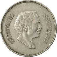Monnaie, Jordan, Hussein, 50 Fils, 1/2 Dirham, 1977/AH1397, TTB, Copper-nickel - Jordan