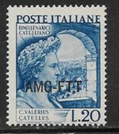 Trieste Zone A, Scott # 56 MNH Italy # 529 Overprinted, 1949 - 7. Trieste