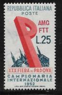 Trieste Zone A, Scott # 150 MNH Italy #606 Overprinted, 1952 - 7. Trieste