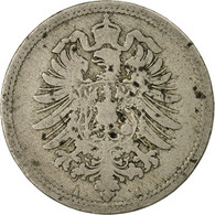 Monnaie, GERMANY - EMPIRE, Wilhelm I, 10 Pfennig, 1889, Berlin, B+ - 10 Pfennig