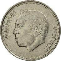Monnaie, Maroc, Al-Hassan II, Dirham, 1987/AH1407, Paris, TTB+, Copper-nickel - Morocco