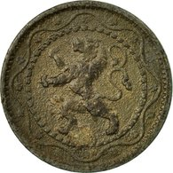 Monnaie, Belgique, 5 Centimes, 1916, TB+, Zinc, KM:80 - 1909-1934: Albert I