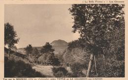 Haute-loire : LE MEZENC : Vue Sur Le Mezenc Entre Tence Et Le Chambon Sur Lignon - Sonstige Gemeinden