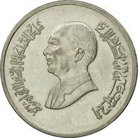 Monnaie, Jordan, Hussein, 5 Piastres, 1996/AH1416, TB, Nickel Plated Steel - Jordanie