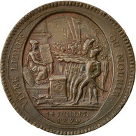 Monnaie, France, 5 Sols, 1792, Birmingham, TTB+, Bronze, KM:Tn31 - 1789-1795 Period: Revolution