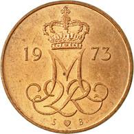 Monnaie, Danemark, Margrethe II, 5 Öre, 1973, Copenhagen, TB+, Copper Clad - Denmark