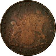 Monnaie, INDIA-BRITISH, MADRAS PRESIDENCY, 10 Cash, 1803, Soho Mint, Birmingham - India