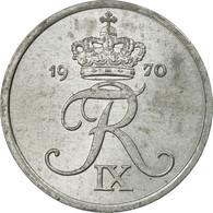 Monnaie, Danemark, Frederik IX, 2 Öre, 1970, Copenhagen, TTB, Zinc, KM:840.2 - Denmark