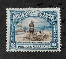 Trinidad & Tobago 1937, 6c Perf 12½ ,Scott # 37a,XF MLH*OG ,Fresh Color ,,Excellent Centering ! (SP-3) - Trinidad & Tobago (...-1961)