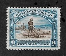 Trinidad & Tobago 1935, 6c Scott # 37,VF Mint Hinged*OG ,Fresh Color ,Excellent Centering ! (SP-3) - Trinidad & Tobago (...-1961)