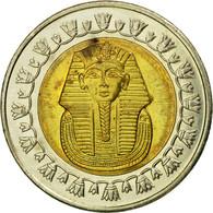 Monnaie, Égypte, Pound, 2006/AH1427, Cairo, TB+, Bi-Metallic, KM:940 - Egypt