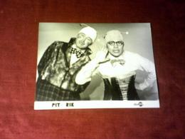 PIT ET RIK    DISC AZ - Célébrités