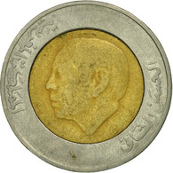 Monnaie, Maroc, Al-Hassan II, 5 Dirhams, 1987/AH1407, Paris, TB, Bi-Metallic - Maroc