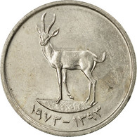 Monnaie, United Arab Emirates, 25 Fils, 1973/AH1393, British Royal Mint, TTB - United Arab Emirates