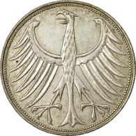 Monnaie, République Fédérale Allemande, 5 Mark, 1966, Munich, TTB, Argent - [ 7] 1949-… : FRG - Fed. Rep. Germany