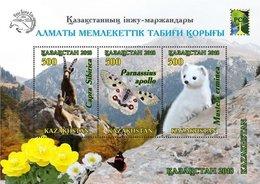 Kazakhstan 2018. Almaty State Natural Reserve.  MNH - Stamps