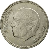 Monnaie, Maroc, Al-Hassan II, 5 Dirhams, 1980/AH1400, Paris, TTB, Copper-nickel - Morocco