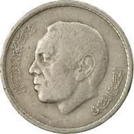 Monnaie, Maroc, Al-Hassan II, Dirham, 1974/AH1394, Paris, TTB, Copper-nickel - Morocco