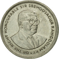Monnaie, Mauritius, 20 Cents, 1993, TTB, Nickel Plated Steel, KM:53 - Maurice