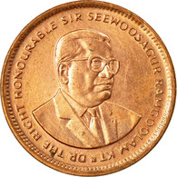 Monnaie, Mauritius, 5 Cents, 1995, SUP+, Copper Plated Steel, KM:52 - Maurice