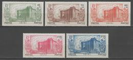 ININI:  N°31/35 * (très Légères)        - Cote 102€ - - Inini (1932-1947)