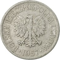 Monnaie, Pologne, 50 Groszy, 1957, Warsaw, TTB, Aluminium, KM:48.1 - Poland