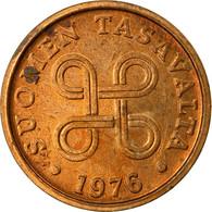 Monnaie, Finlande, 5 Pennia, 1976, TTB, Cuivre, KM:45 - Finland