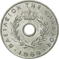 Monnaie, Grèce, 20 Lepta, 1969, SUP+, Aluminium, KM:79 - Grèce