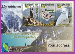 Kazakhstan 2018. A Letter To Your Address. Almaty State Natural Reserve. - Kazakhstan