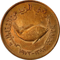 Monnaie, United Arab Emirates, 5 Fils, 1973/AH1393, British Royal Mint, TTB - Emirats Arabes Unis
