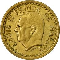 Monnaie, Monaco, Louis II, Franc, Undated (1943), TTB, Aluminium, Gadoury:MC - Monaco