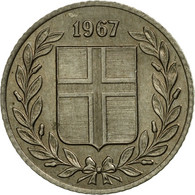 Monnaie, Iceland, 25 Aurar, 1967, SUP, Copper-nickel, KM:11 - Islandia
