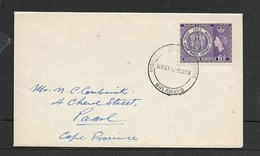 S. Rhodesia, First Day Cover,RHODES CENTENARY BULWAYO 30 MAY 53 > S.Africa - Southern Rhodesia (...-1964)