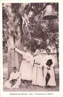 CEYLAN  ( Sri Lanka )  - Missions De CEYLAN  -  Missionnaires A La Mission ( Religion , Christianisme ) - Sri Lanka (Ceylon)