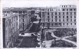 Maroc  -  CASABLANCA  -  La Rue Chevandier De Valdrome Et Le Square Gentil - Casablanca