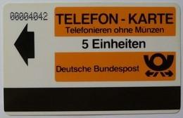 GERMANY - Goslar - Test - TI - 5 Units - Autelca - 1984 - Mint - T-Series : Tests