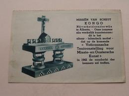 KONGO Missiën Van SCHEUT Nijverheidsonderwijs Te Alberta ( Druk. De Beurs Antwerp ) Anno 19?? ( Zie / Voir Photo Svp ) ! - Missions