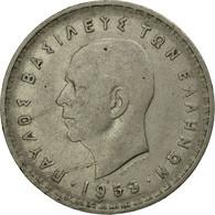 Monnaie, Grèce, Paul I, 10 Drachmai, 1959, TB, Nickel, KM:84 - Greece