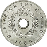 Monnaie, Grèce, 10 Lepta, 1969, TTB+, Aluminium, KM:78 - Greece