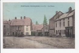 CPA 21 FONTAINE FRANCAISE La Place - Francia