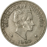 Monnaie, Colombie, 20 Centavos, 1963, TTB, Copper-nickel, KM:215.2 - Colombia