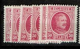 200  **   6 Nuances - 1922-1927 Houyoux