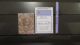 ITALY KINGDOM- SASSONE PARCEL POST NUMBER 6 USED - 1900-44 Vittorio Emanuele III