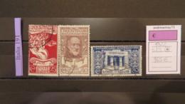 ITALY KINGDOM- SASSONE SET  NUMBER S 23 USED - 1900-44 Victor Emmanuel III