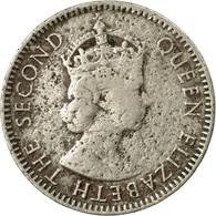 Monnaie, Mauritius, Elizabeth II, 1/4 Rupee, 1960, TB, Copper-nickel, KM:36 - Maurice