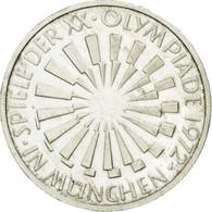 Monnaie, République Fédérale Allemande, 10 Mark, 1972, Stuttgart, SUP - [ 7] 1949-…: BRD