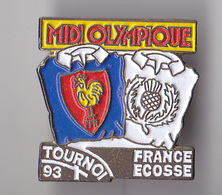 PIN'S THEME RUGBY TOURNOI 1993 FRANCE ECOSSE - Rugby